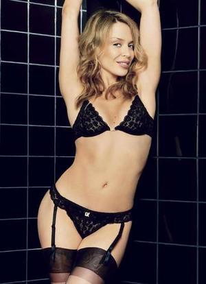 Kylie Minogue lingerie