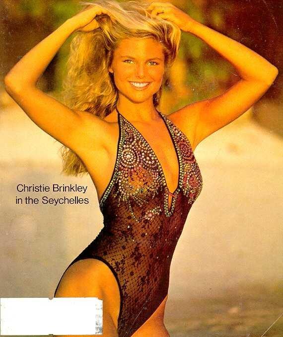 lingerie Christie Brinkley