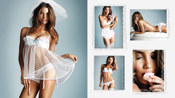 lingerie de mariée