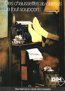 lingerie dim 1983
