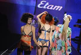 lingerie Etam 1990