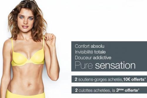 lingerie Etam 2012