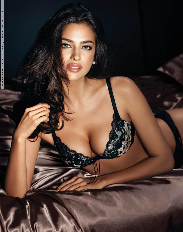 lingerie Irina Shayk
