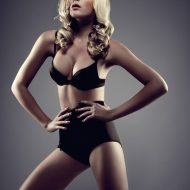 Lingerie pin up