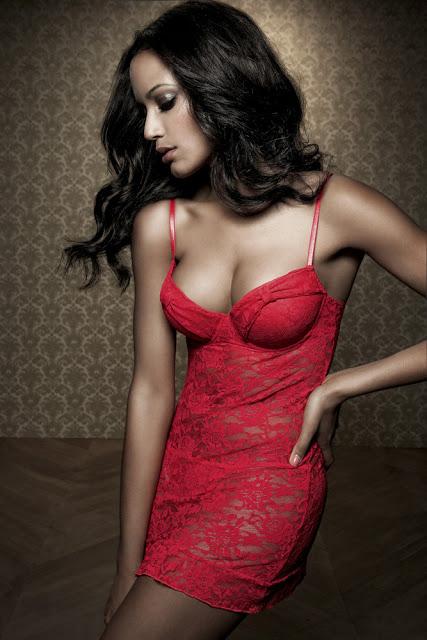 lingerie Selita Ebanks