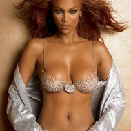 Tyra Banks lingerie