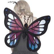 Accessoires ailes de papillon noir leg avenue taille unique