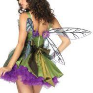 Ailes de fee sans bretelles leg avenue vert mauve ailes de fee
