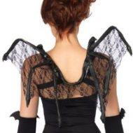 Ailes delicieuse chauve souris leg avenue leg avenue taille unique ailes noir
