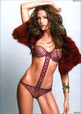 Almudena Fernandez lingerie