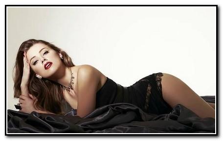 Amber Heard lingerie