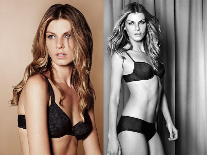 Angela Lindvall lingerie