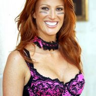 Angie Everhart lingerie