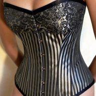 Arianne corset guepiere casmir casmir lxl guepieres noir rose