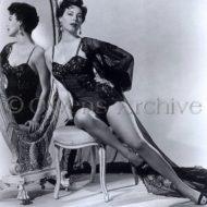 Ava Gardner lingerie