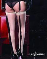 Bas elegance de franges leg avenue chair noir bas