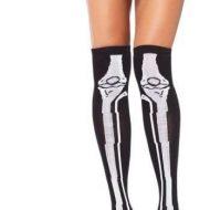 Bas squelette leg avenue c bas fantaisie noir