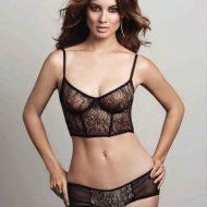 Berenice Marlohe lingerie