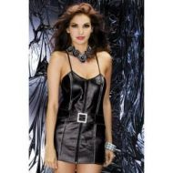 Biker dress obsessive noir robes courtes