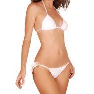 Bikini transparent femme