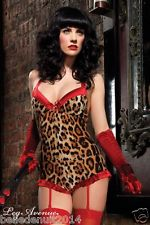 body combi short leopard leg avenue leopard burlesque