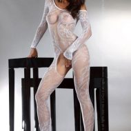 Bodystocking resille ajoure