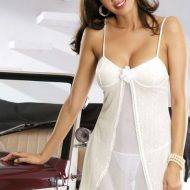 Bride babydoll obsessive blanc nuisettes