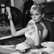 Brigitte Bardot lingerie