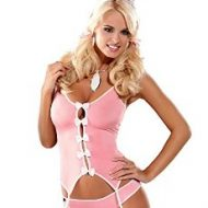 Bunny corset costume obsessive noir p tites betes