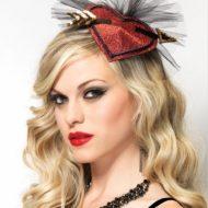 Burlesque coiffe cupidon leg avenue rouge baiser burlesque