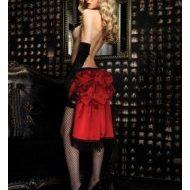 Burlesque gants reve leg avenue noir burlesque