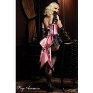 Burlesque jupe mon ruban en queue de pie leg avenue noir rose burlesque