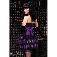 Burlesque jupe petillante leg avenue noir rose burlesque