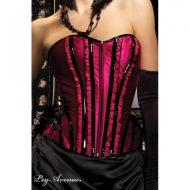 Burlesque panty coeur a prendre leg avenue noir rouge burlesque
