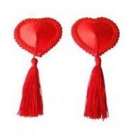 Cache teton coeur rouge