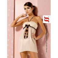 Cappuccino chemise obsessive beige nuisettes