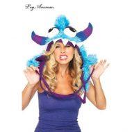 Capuche monstre dejante leg avenue bleu chapeaux
