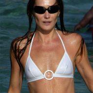 Carla bruni bikini