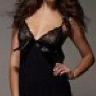 Casablanca chemise obsessive noir robes lingerie courtes