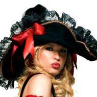 Chapeau facon cape et d epee leg avenue noir chapeaux