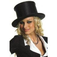 Chapeau satin pop up leg avenue noir chapeaux