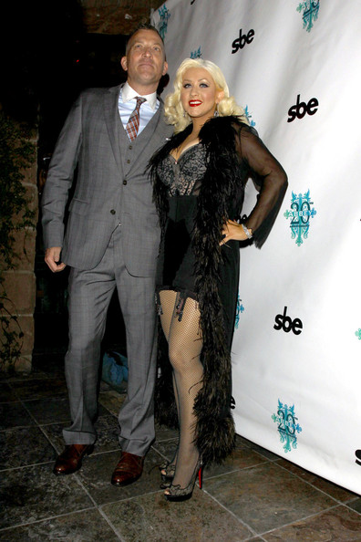Christina Aguilera lingerie