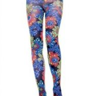 Collant kaleidoscope leg avenue multicolore collants