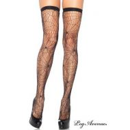 Collant spider leg avenue noir collants