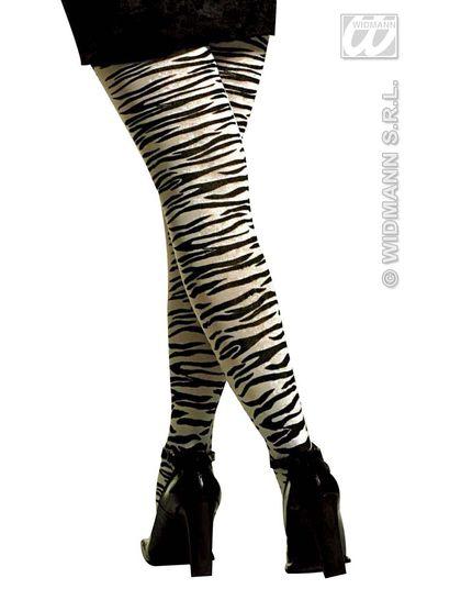 collants zebre