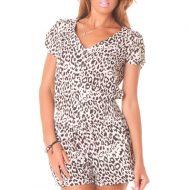 Combinaison noire leopard