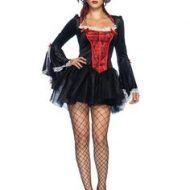 Corset vampiresse sexy leg avenue leg avenue large i halloween noir