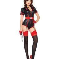 Costume 3 pieces infirmiere nip tuck leg avenue leg avenue medium infirmieres pompieres noir