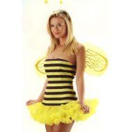 Costume abeille a miel leg avenue noir jaune p tites betes