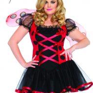 Costume coccinelle leg avenue noir rouge costumes grandes tailles